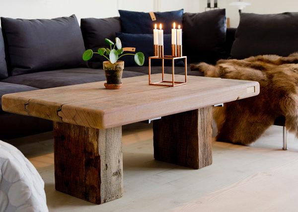 Sofabord azobetræ