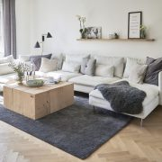 ByLøth Sofabord egetræsklodser