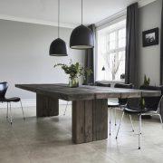 plankebord egetræ mørkt