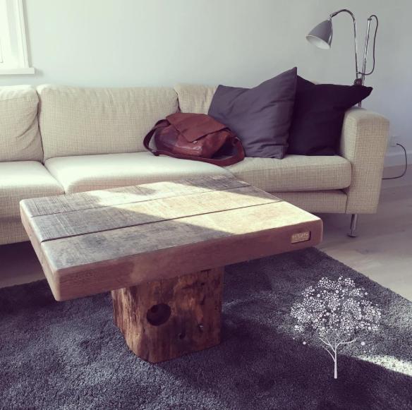ByLøth sofabord azobetræ