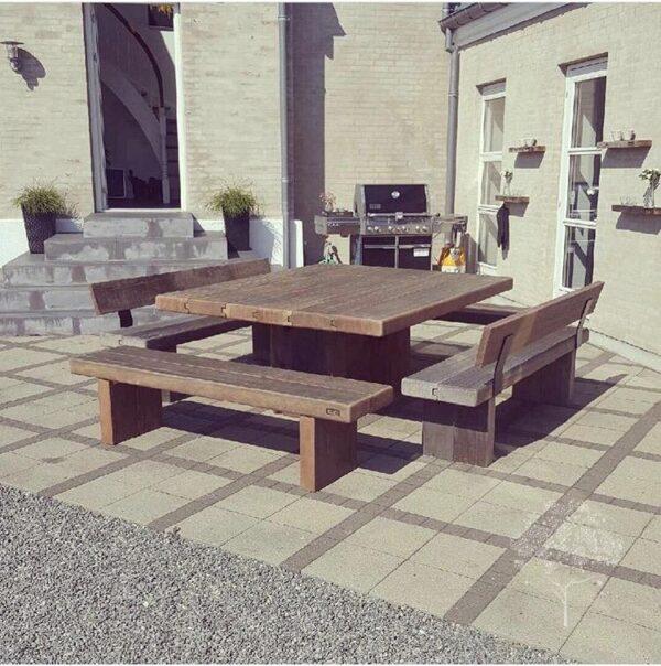 ByLøth Udendørsmøbler havebord og bænke